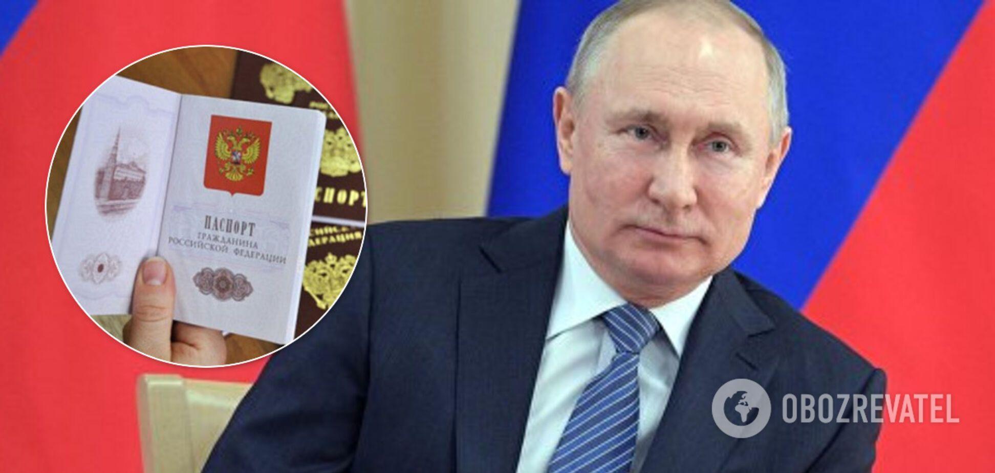 Специально для ОРДЛО? Путин упростил получение российского гражданства