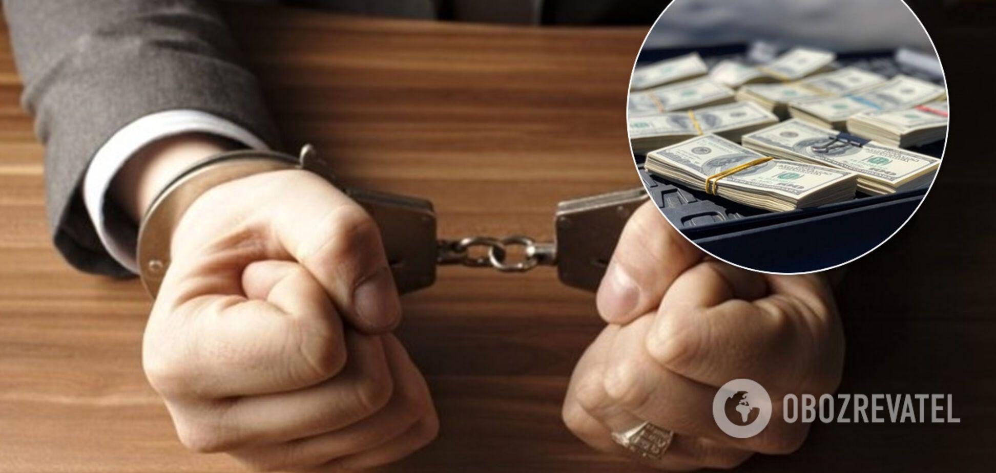 Прокурора Дніпропетровської області спіймали на великому хабарі