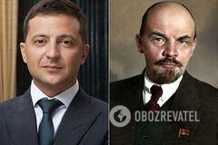 Зеленский и Ленин
