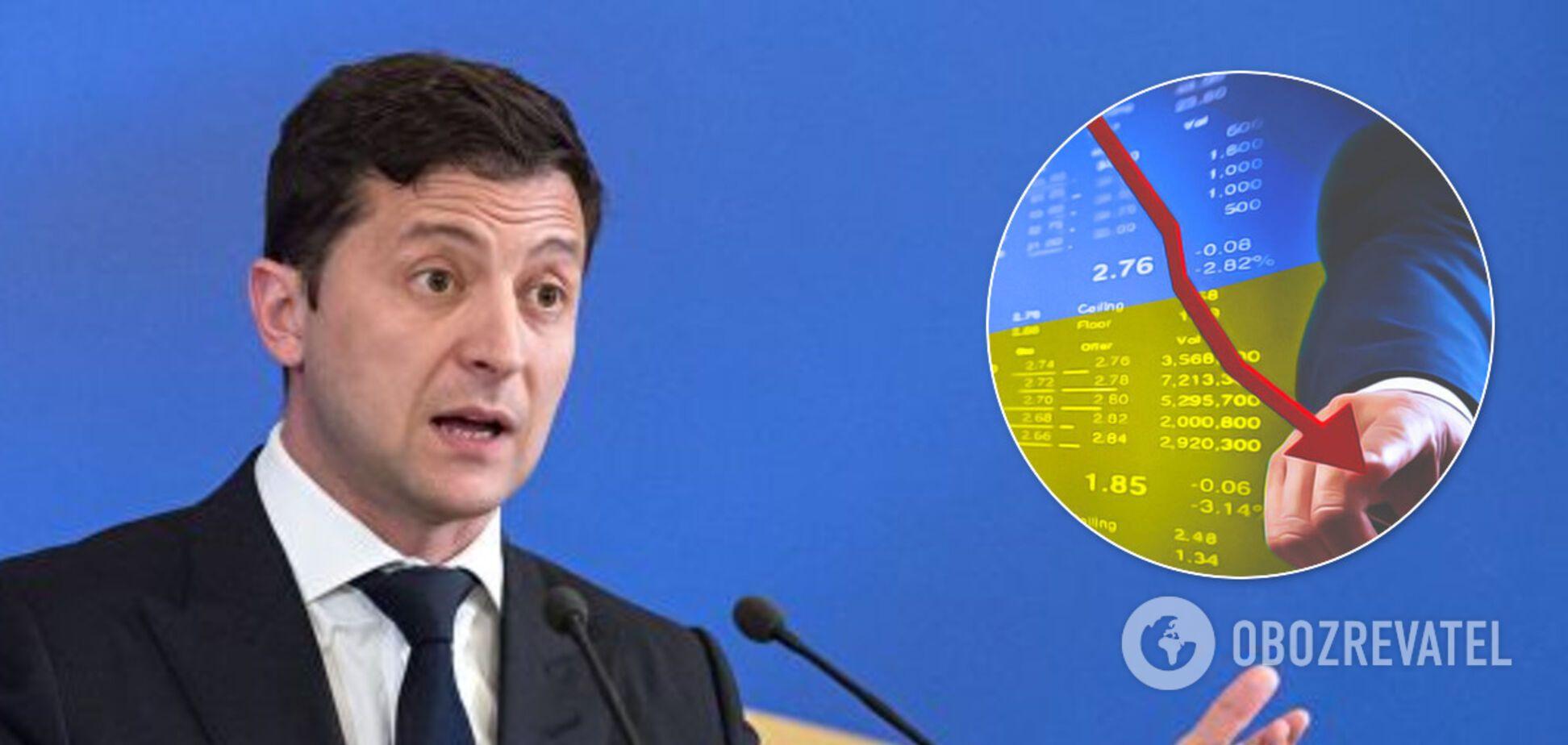 Зеленський втрачає монобільшість, сигналів нема: економіці України спрогнозували тривалу кризу