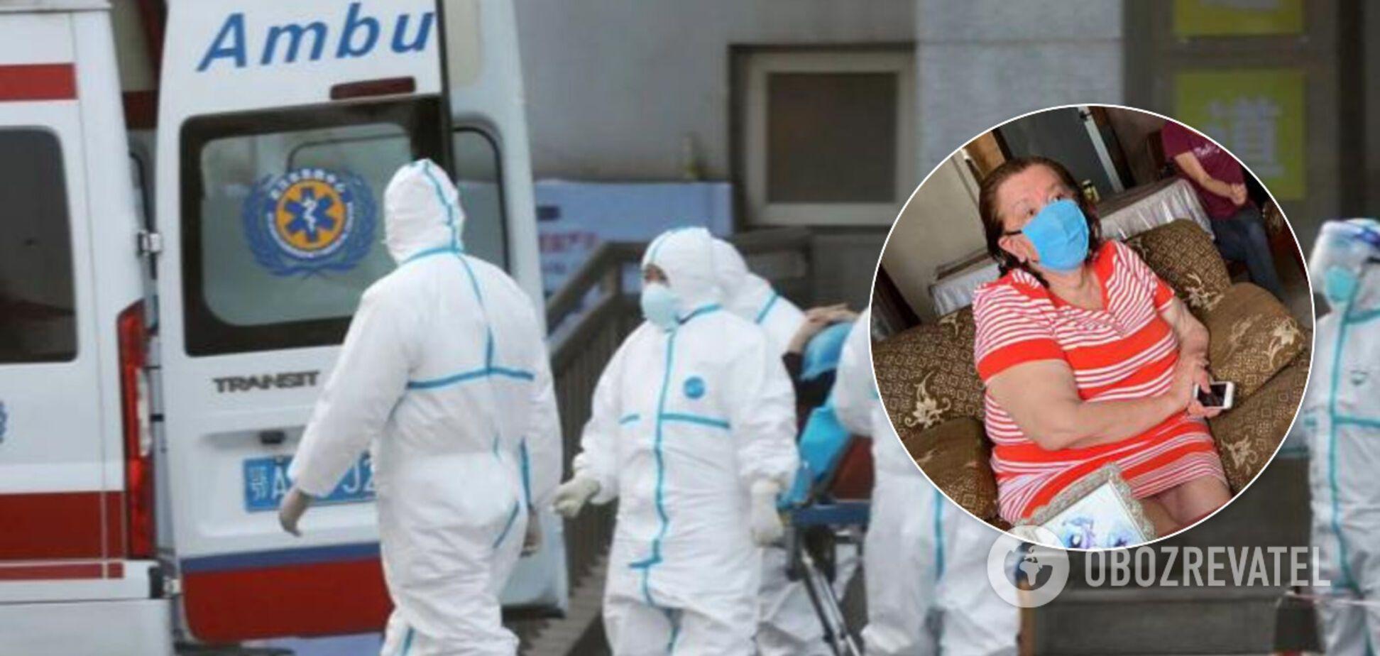 Визнана померлою від коронавірусу жінка через місяць прийшла до тями