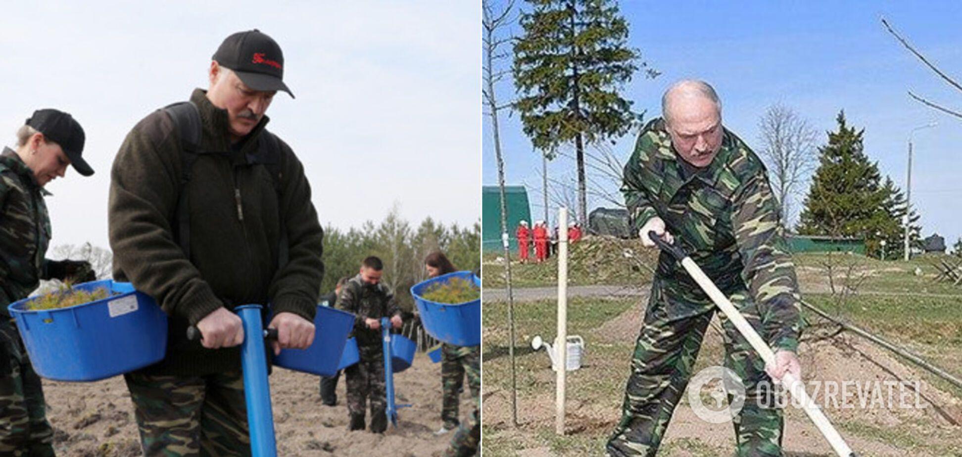 Дії Лукашенка в розпал пандемії COVID-19 спантеличили мережу. Фото і відео