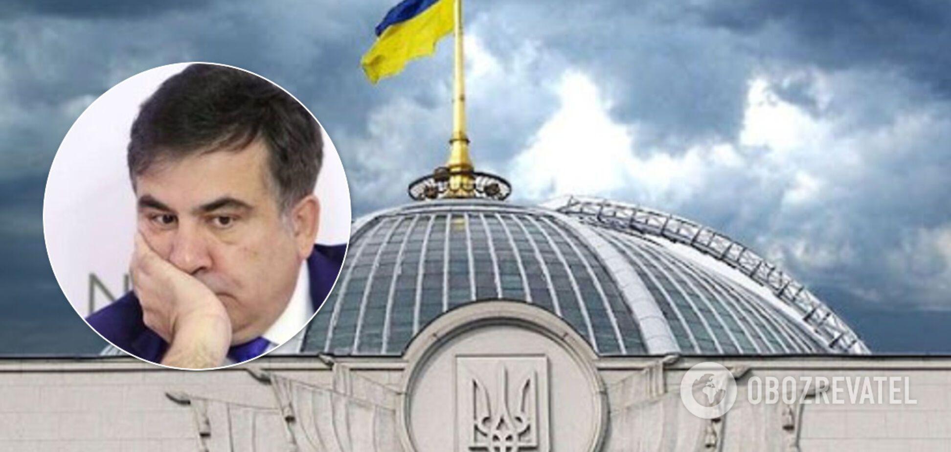 'Он преступник!' В Грузии резко обратились к Разумкову из-за назначения Саакашвили. Опубликовано письмо