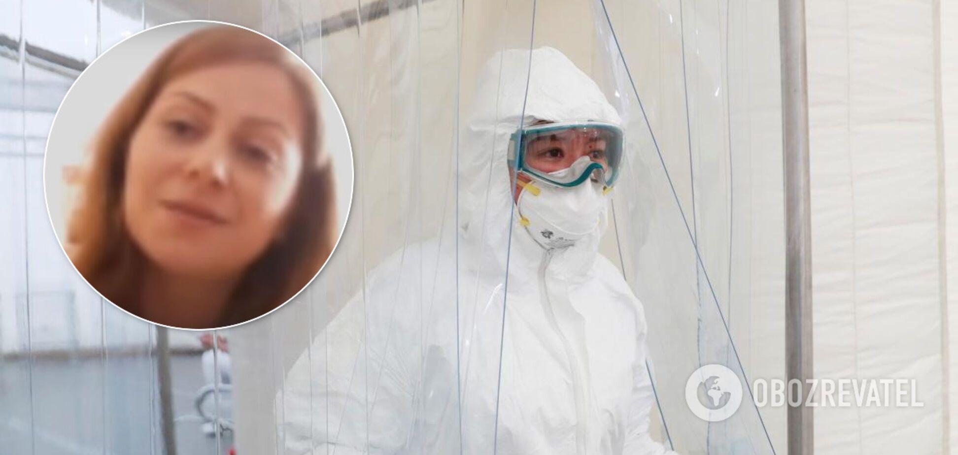 Хірургиня з Тернопільщини з COVID-19 розповіла про проблеми лікарень