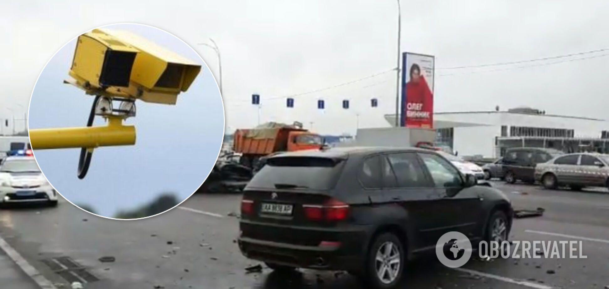 В Киеве с 1 мая вводят автоматические штрафы для водителей: где установлены камеры