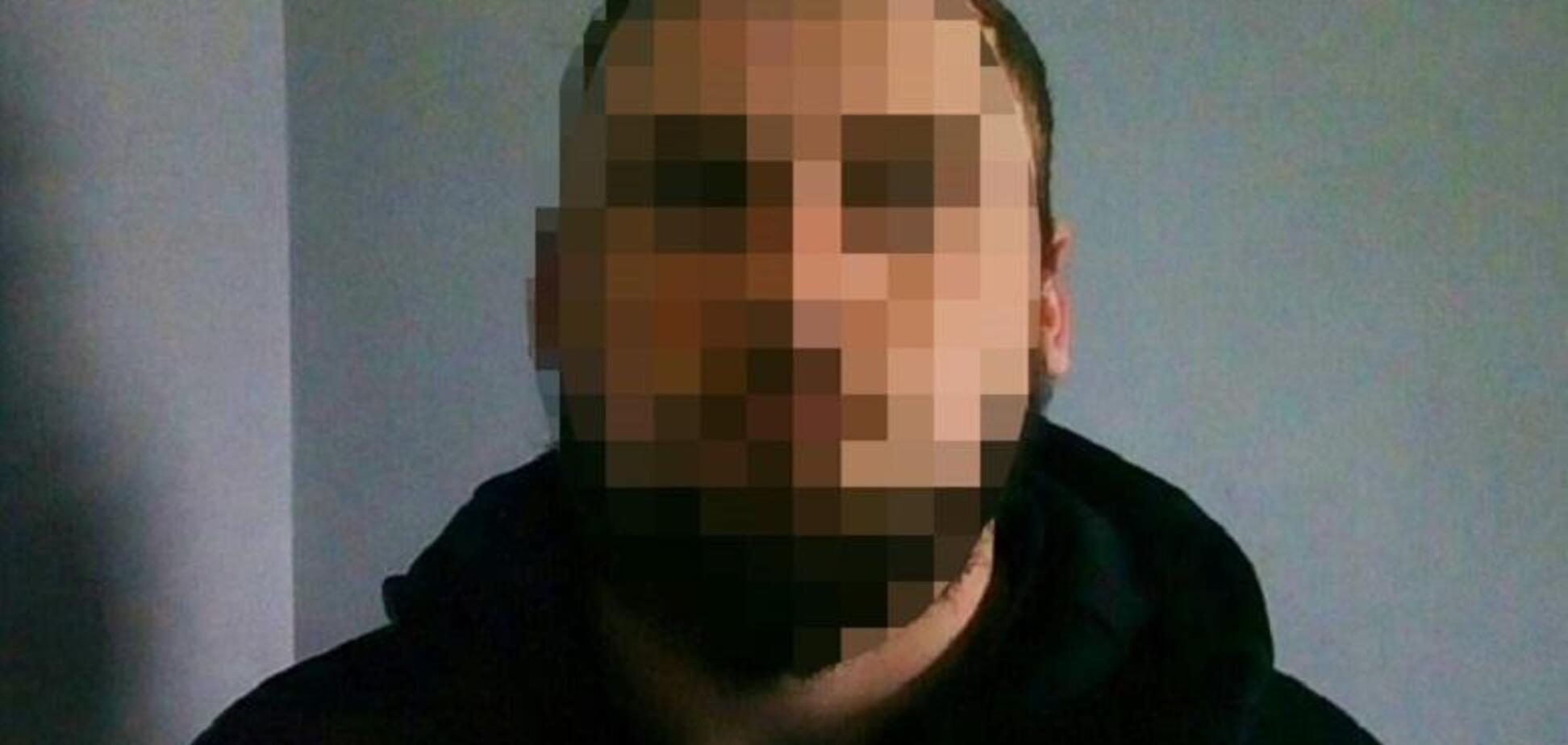 В Киеве преступник открыл огонь по полицейскому