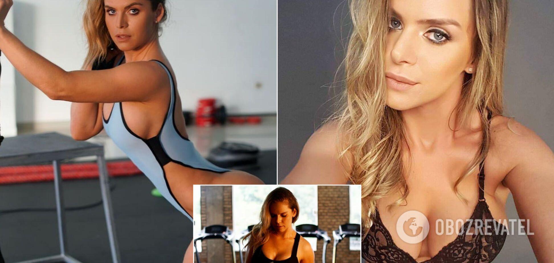 Знаменитая фитнес-модель снялась в обнаженной лесбийской фотосессии