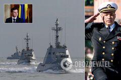 Російський слід? До Зеленського звернулися через переслідування командувача ВМС