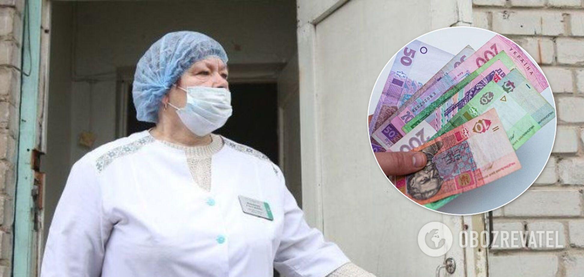 На Вінниччині назрів скандал через мізерні виплати медикам, які працюють з COVID-позитивними