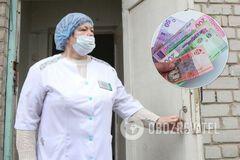 На Винниччине назрел скандал из-за мизерных выплат медикам, работающим с COVID-позитивными