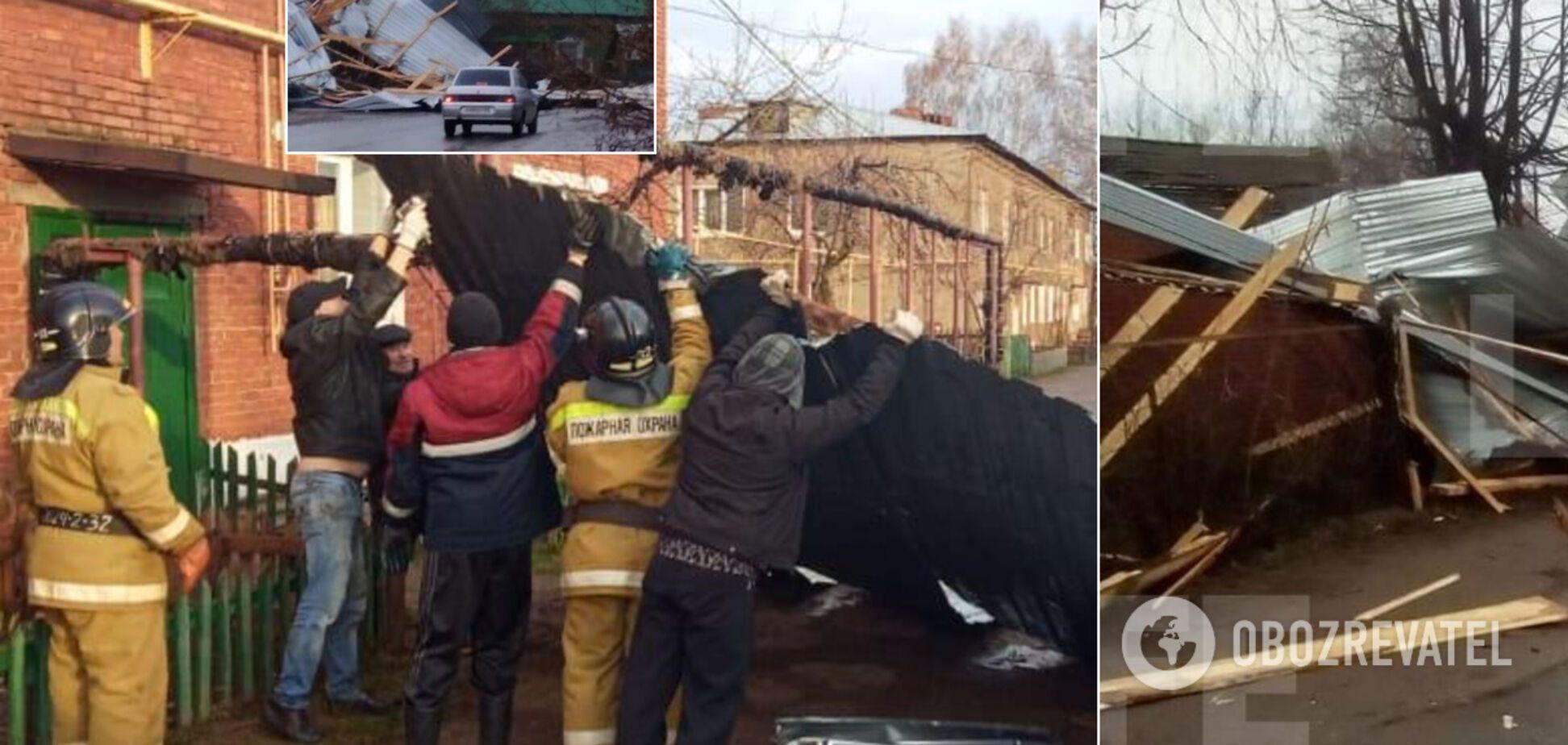 На Росію звалився страшний ураган: є жертви. Фото й відео руйнувань