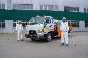 В Україні випустили автомобіль для боротьби з пандемією COVID-19