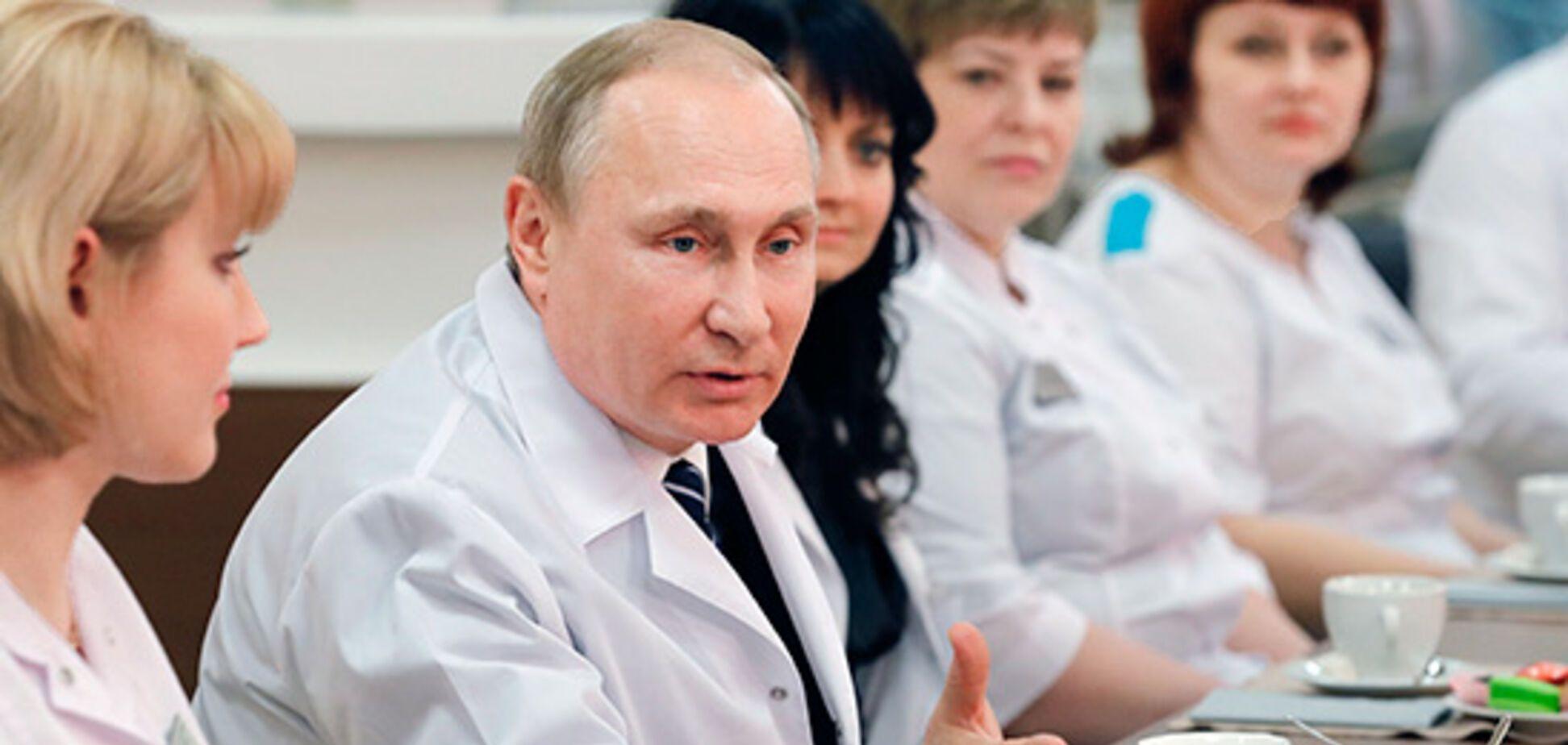 Росіяни підняли на сміх Путіна- 'вірусолога'