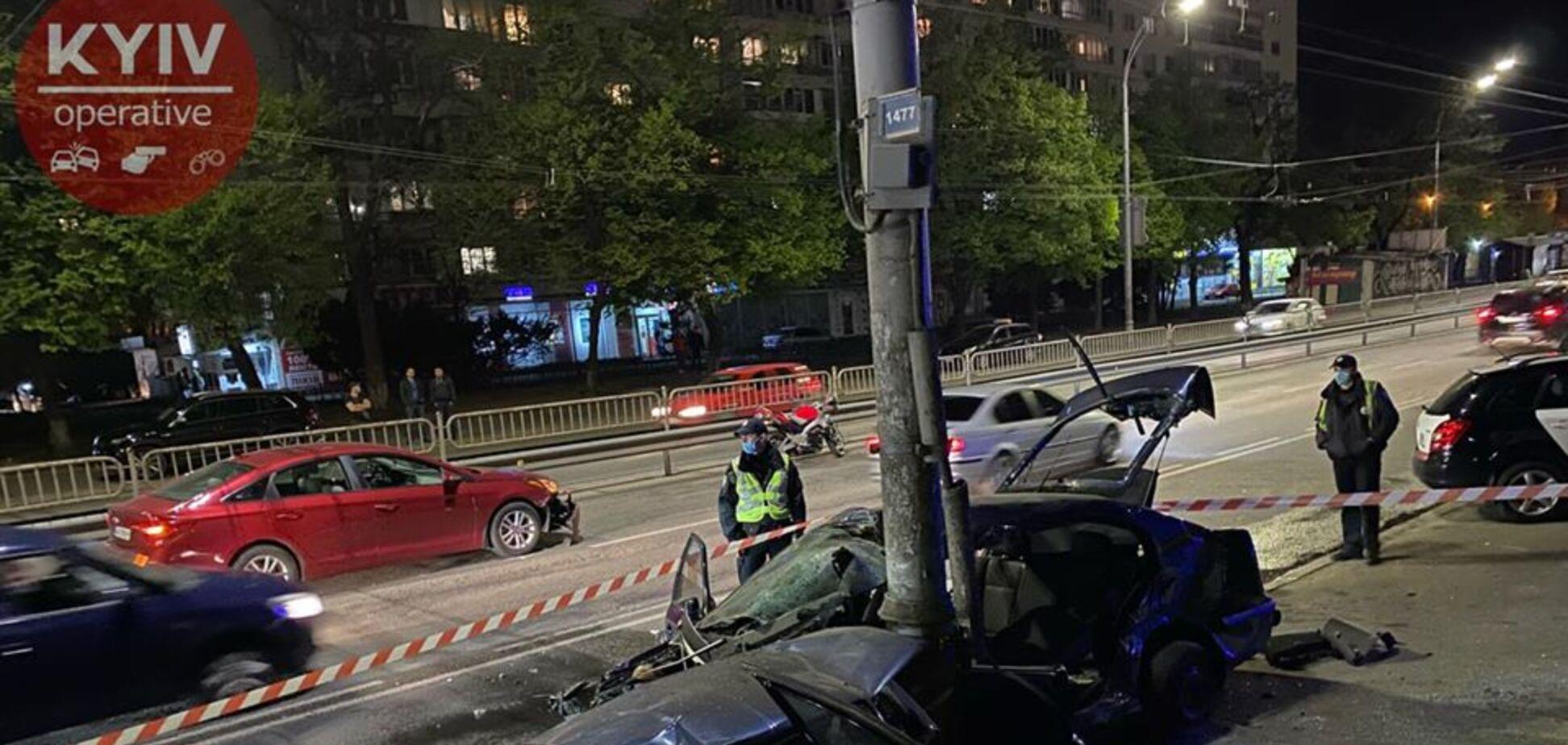 У Києві сталася масштабна ДТП за участю шести авто. Фото і відео