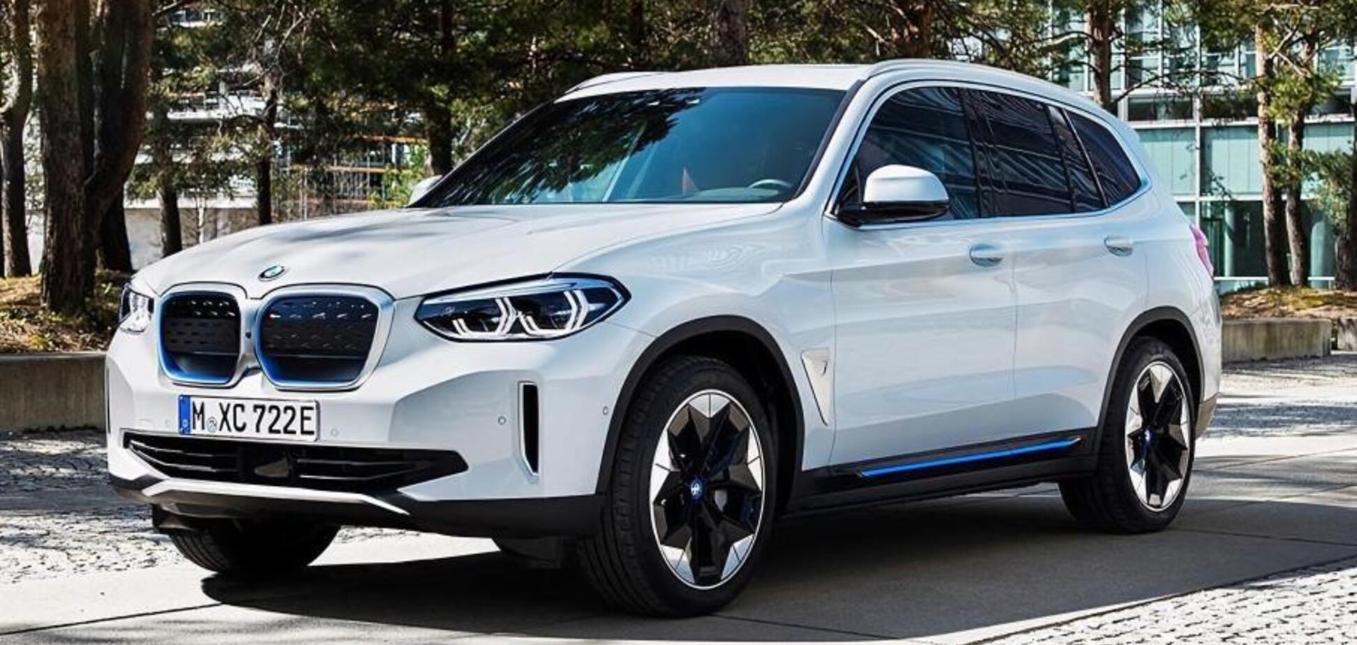 Електричний кросовер BMW iX3 розсекречено достроково