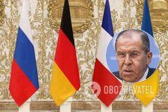 'Не может быть и речи': в России обвинили Украину в срыве 'нормандского формата'