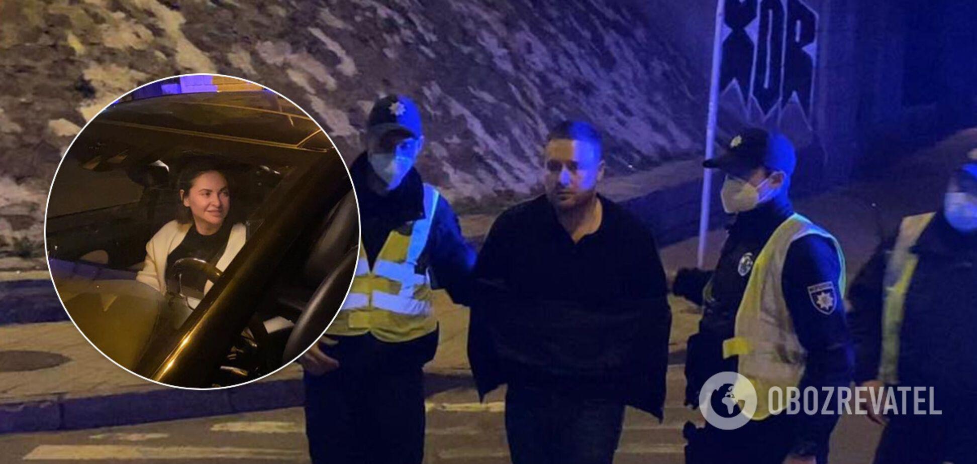 З'явилося відео бійки топчиновника КМДА з поліцейськими