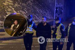 Появилось видео драки топ-чиновника КГГА с полицейскими