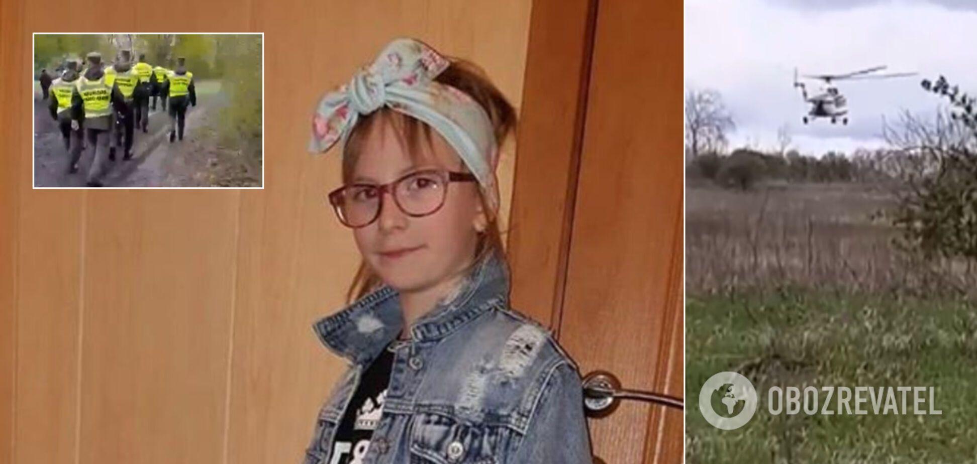 На Харківщині зникла 6-річна дівчинка: до пошуків залучили Нацгвардію і вертольоти. Фото й прикмети дитини