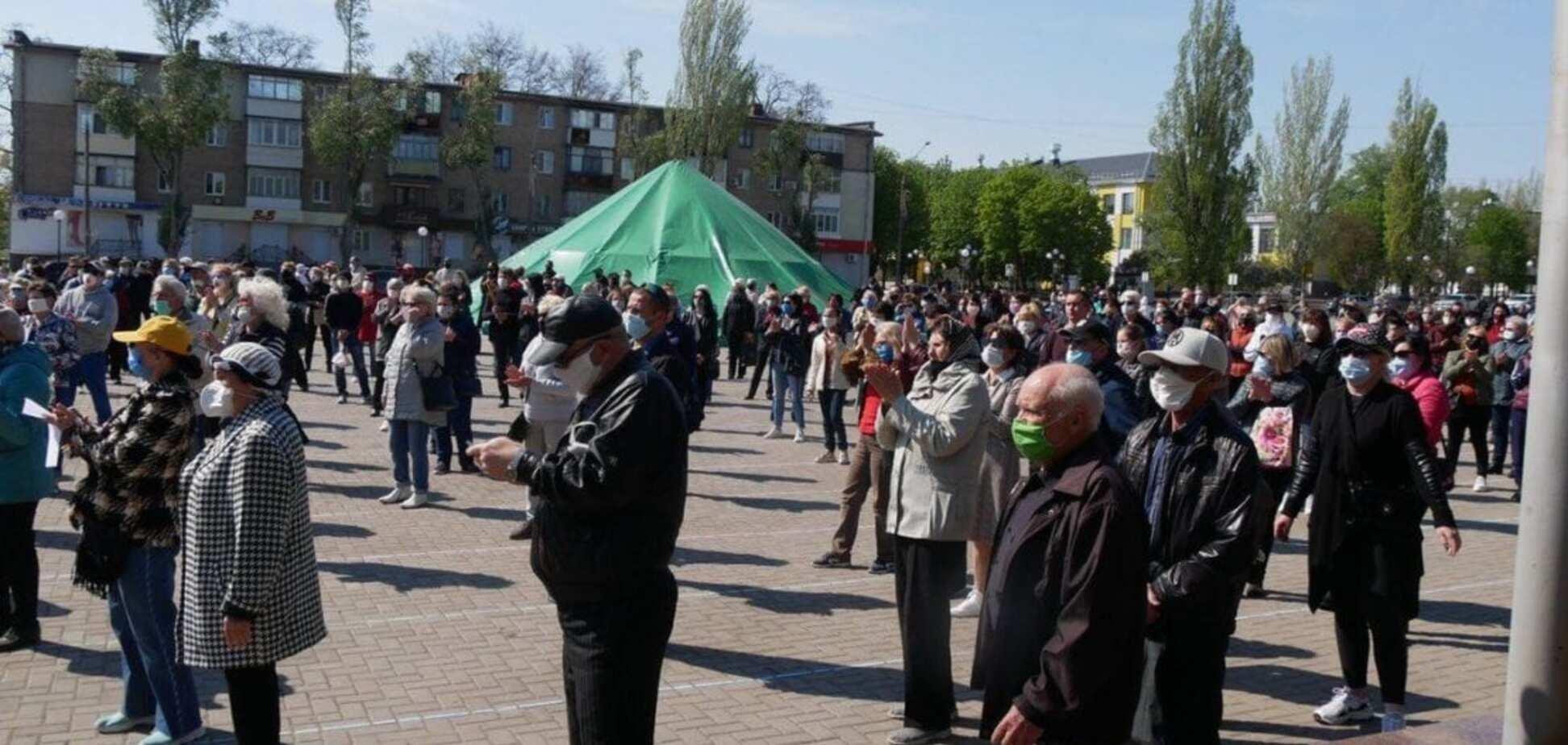 Митинг в Покрове: люди против беспредела силовиков