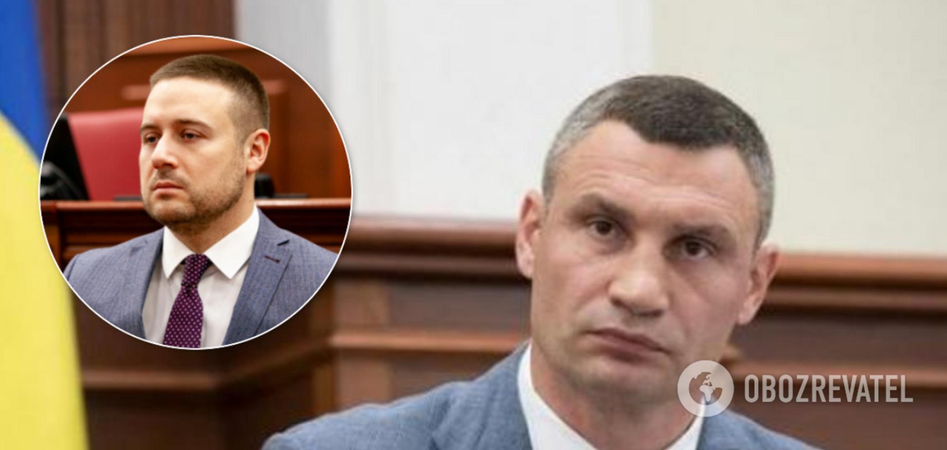 Кличко уволил Слончака после громкого задержания за драку с полицией