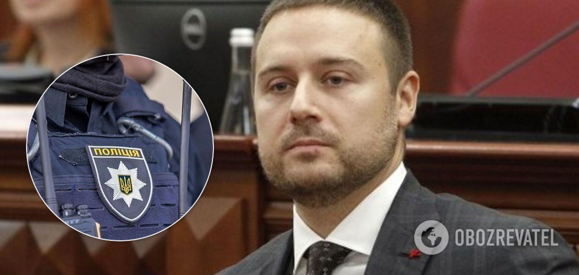 Поліція повідомила про підозру ексзаступнику голови КМДА Слончаку