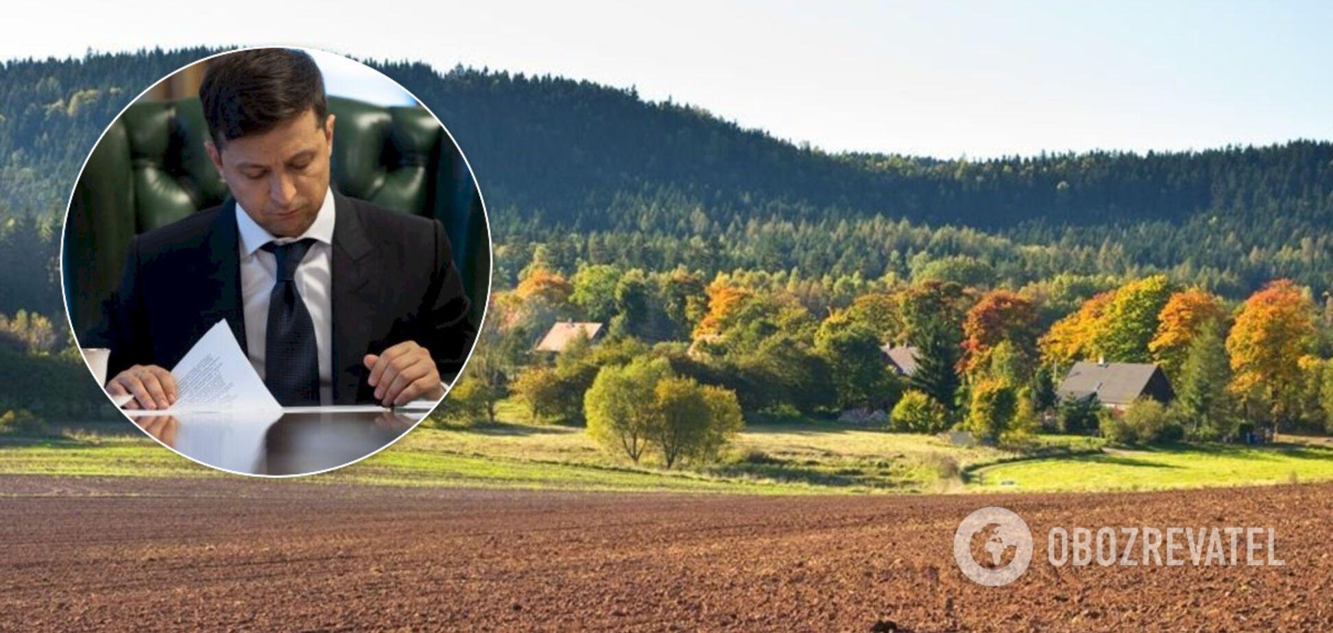 Зеленский открыл рынок земли: как будет работать и кто получит бесплатно