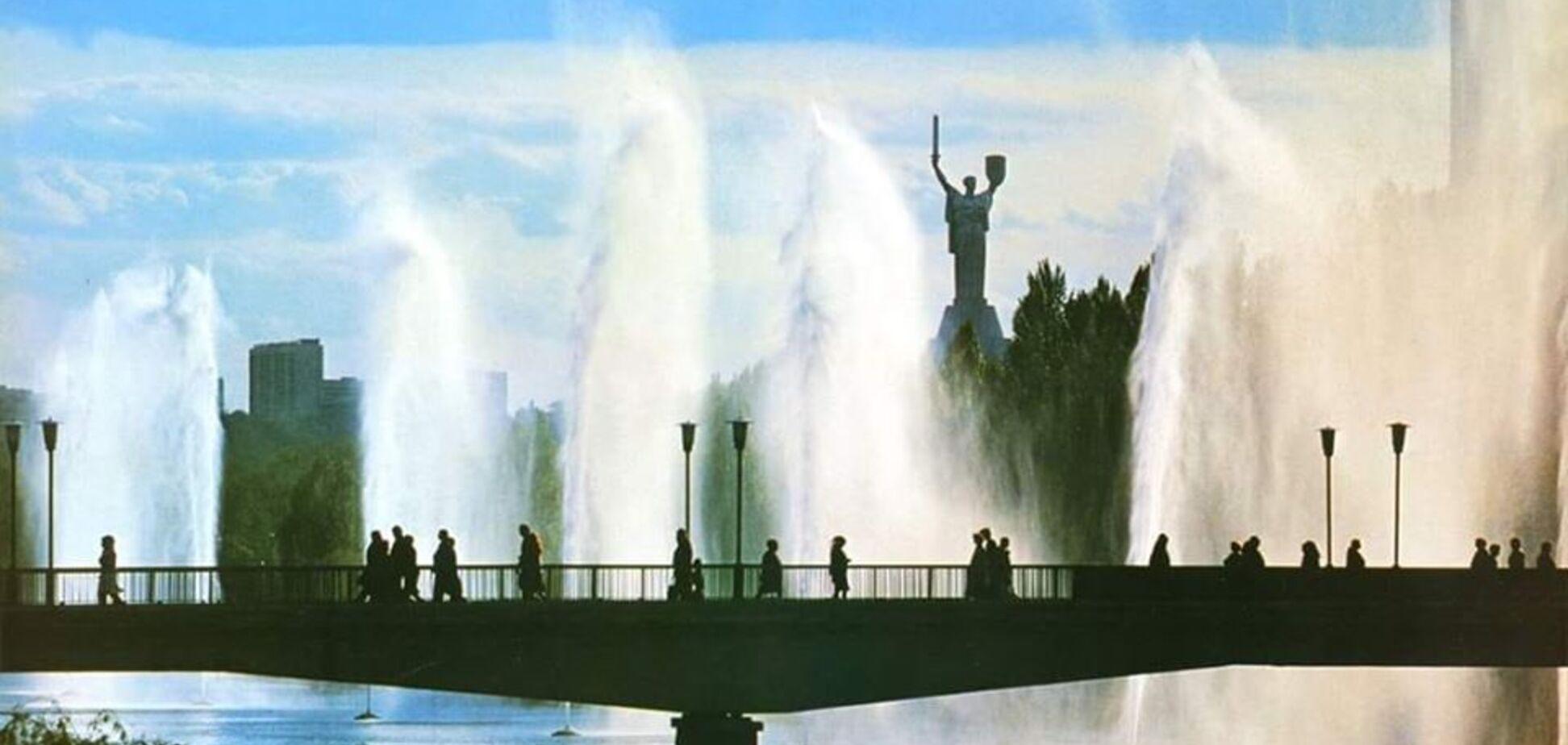 Фонтани на Русанівці у Києві