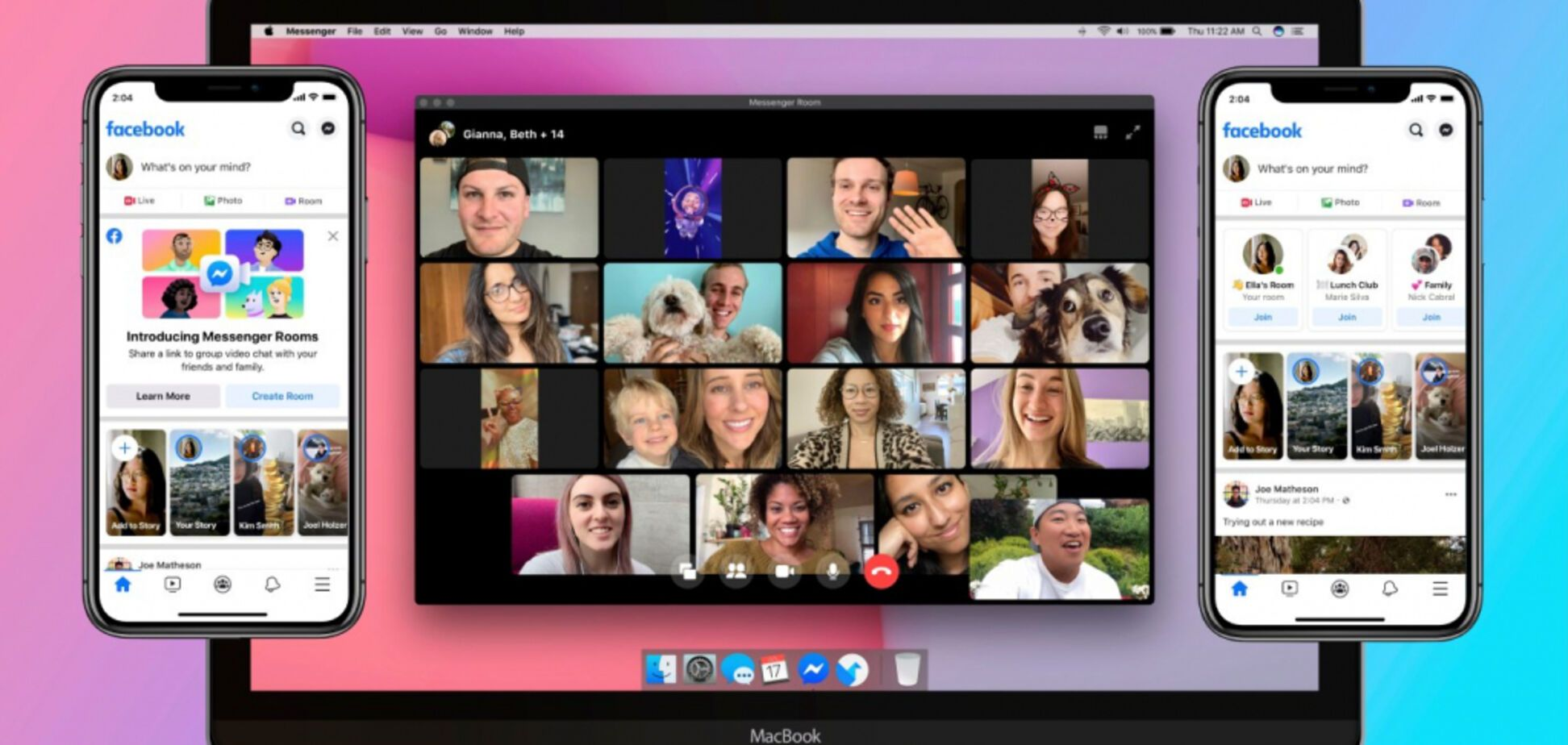 Facebook запустила аналог Zoom – Messenger Rooms: как он работает