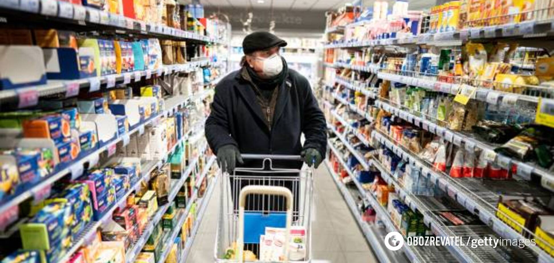 Коронавірус: лікар розповів, як знизити ризик зараження під час купування продуктів