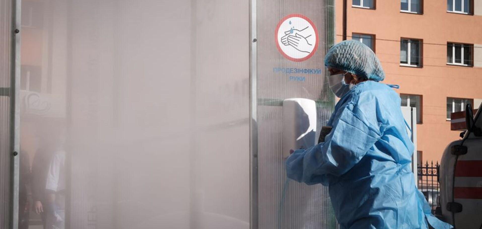 В Черновцах для борьбы с COVID-19 установили 'убийцу бактерий'. Фото