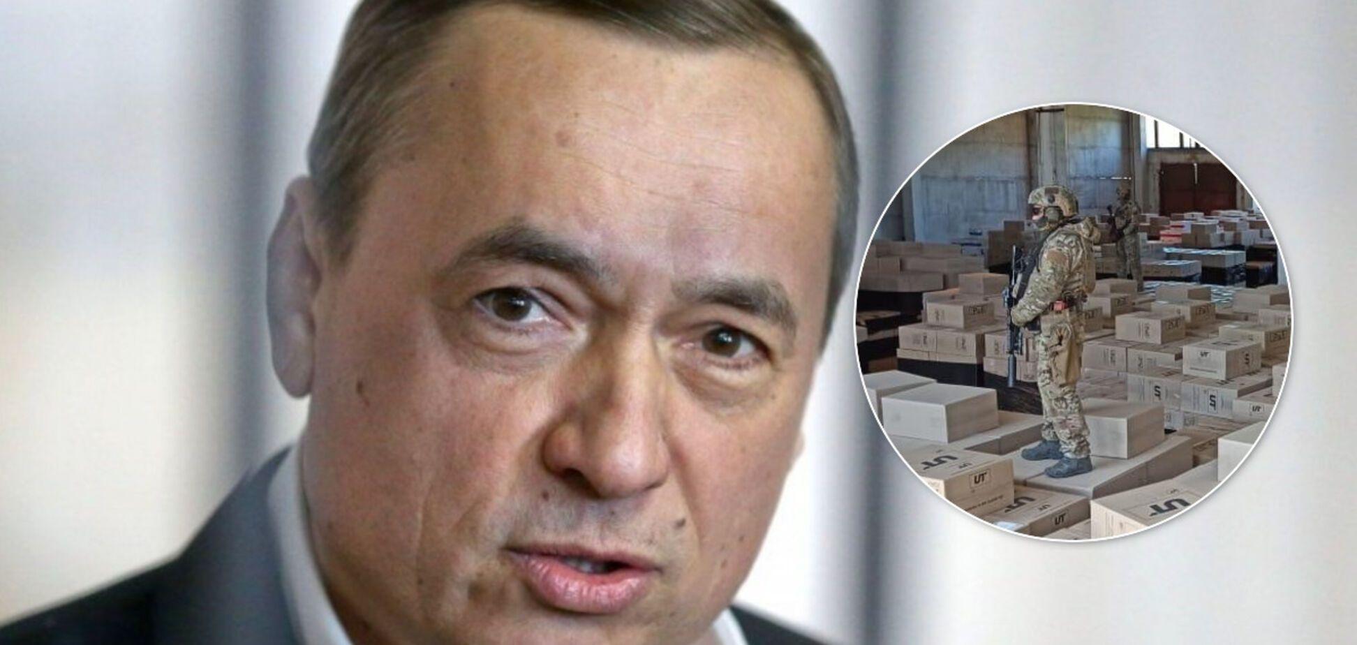 На Дніпропетровщині СБУ накрила тютюнову фабрику, пов'язану з Мартиненком