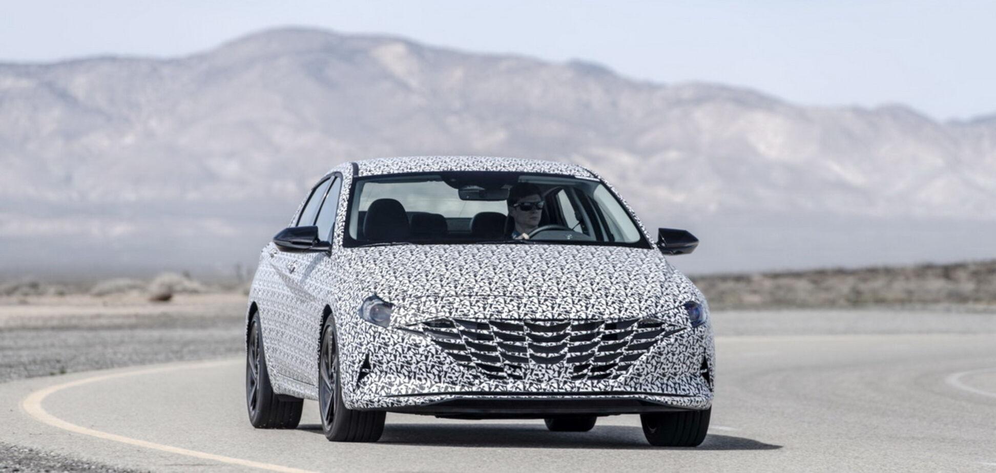 Для Hyundai Elantra готовят спортивную версию N Line