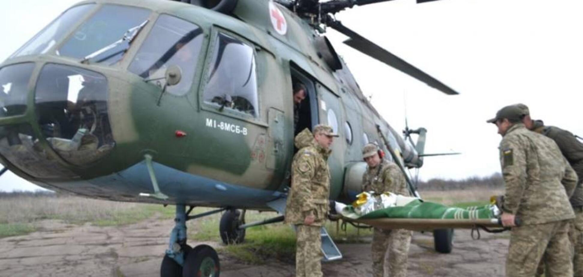 У Дніпро терміново евакуювали поранених бійців із зони ООС