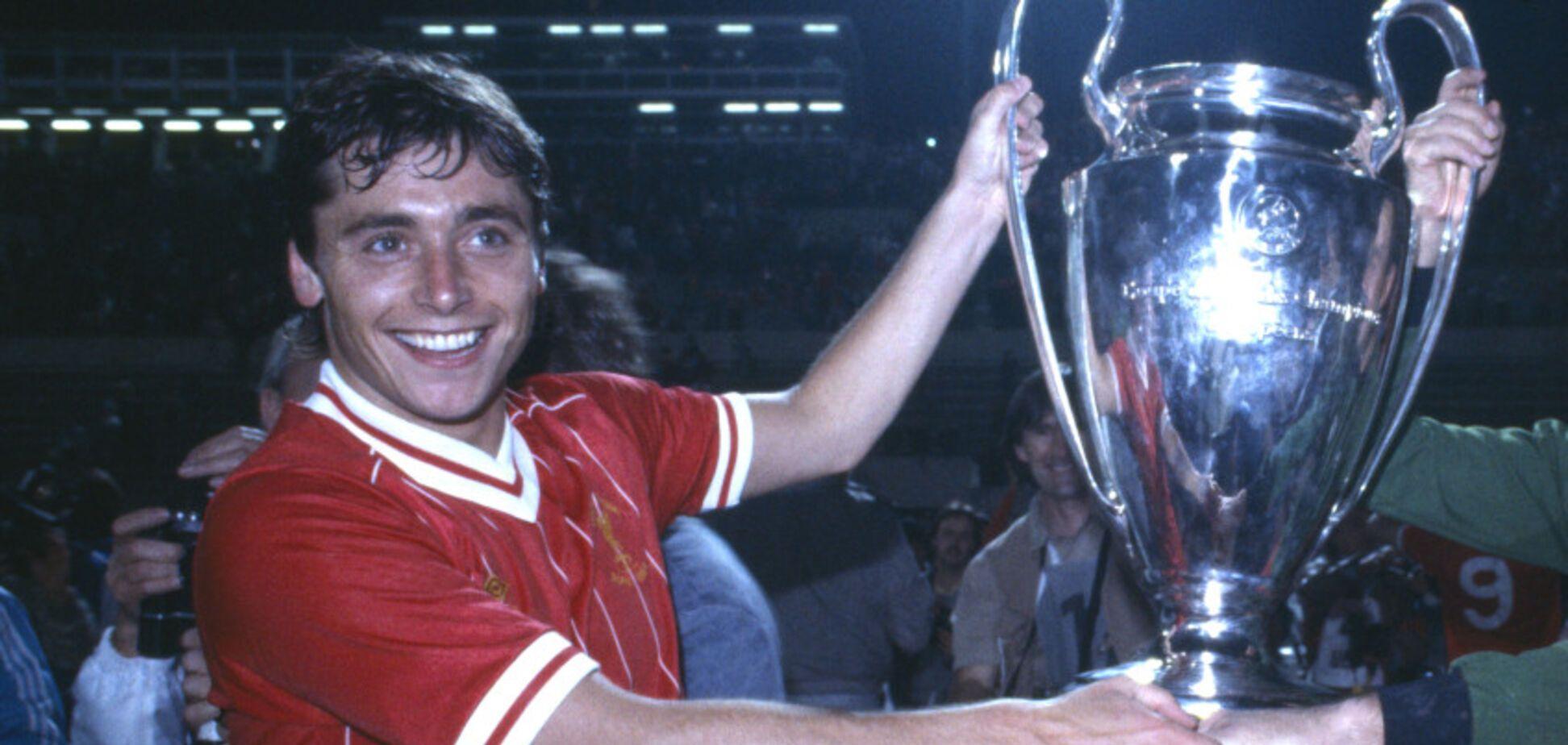 Майкл Робінсон з Кубком європейських чемпіонів 198