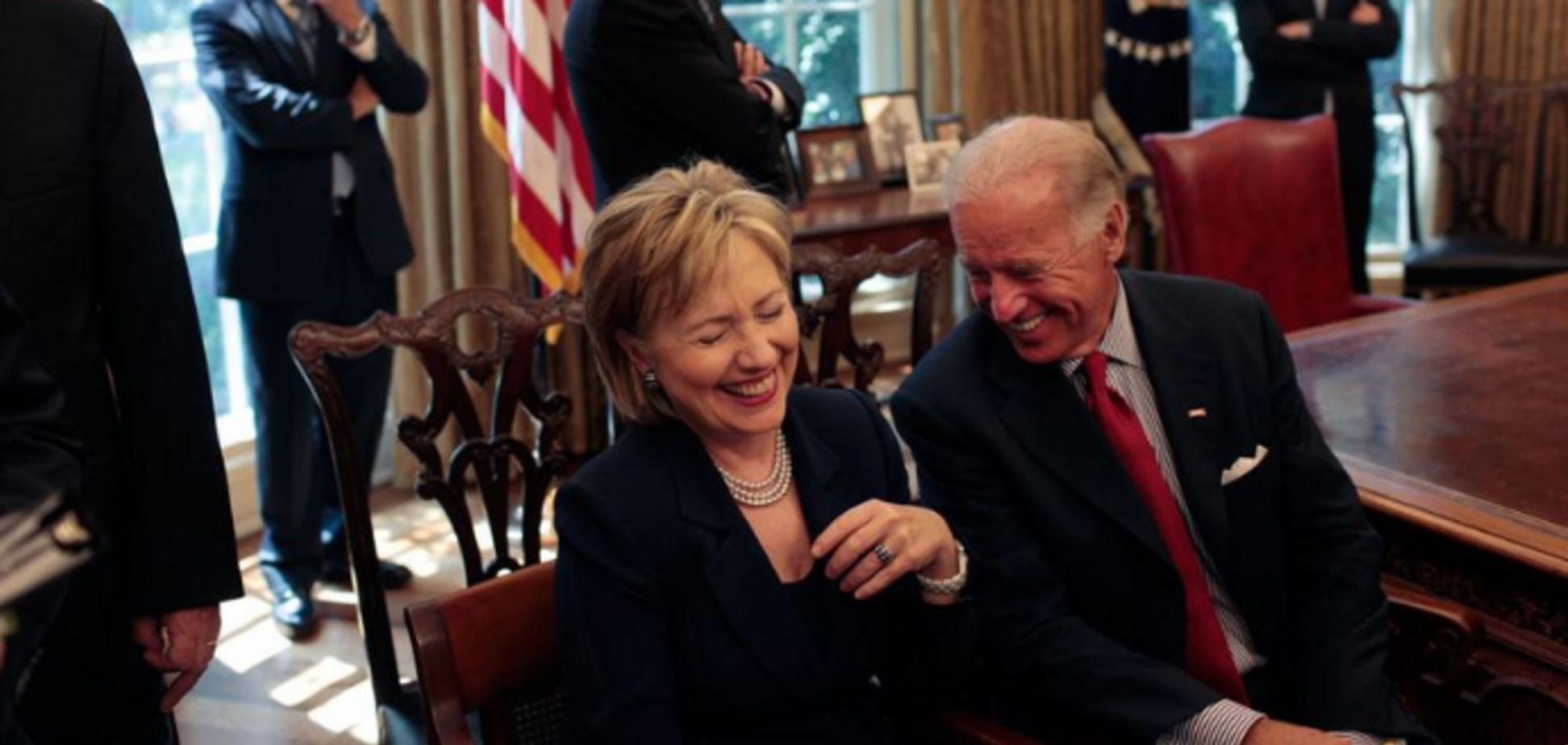 Клінтон висловила підтримку Байдену на виборах президента США