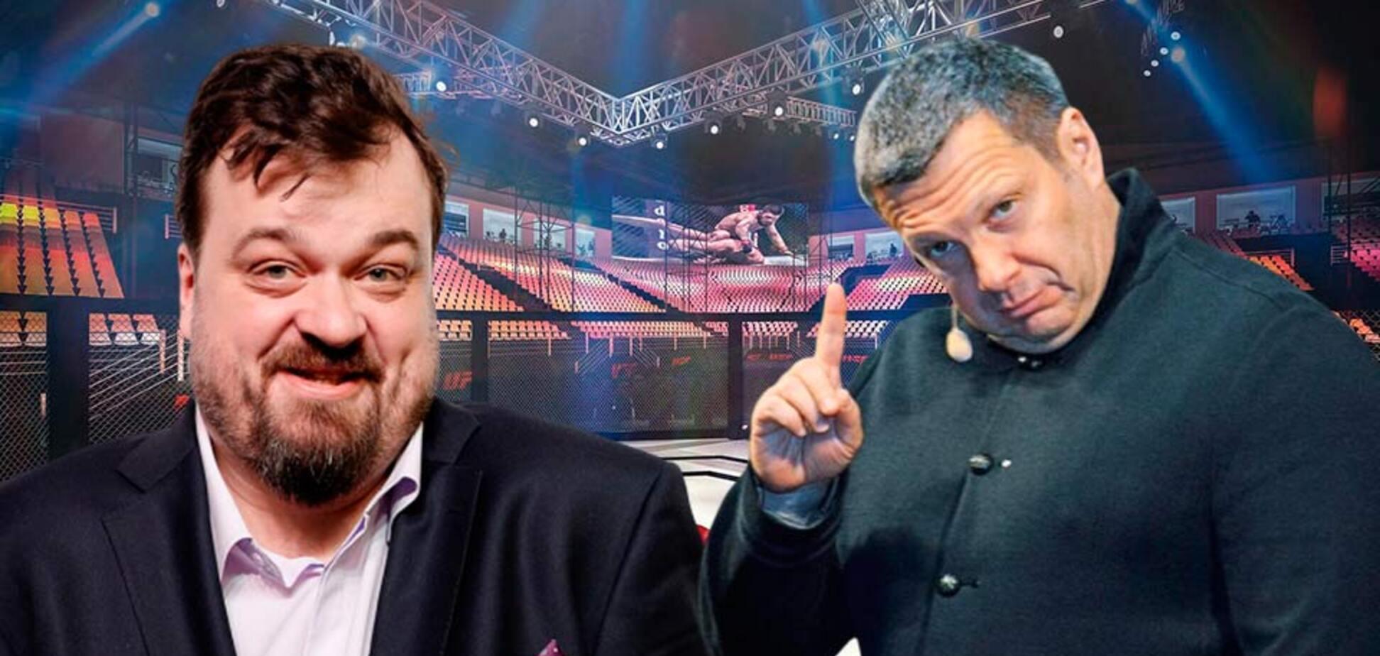 Соловьева высмеяли за угрозы в адрес Уткина
