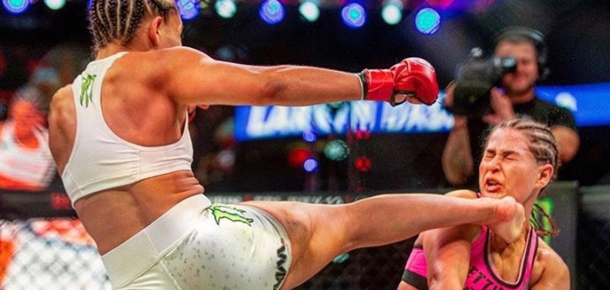 Девушка-боец MMA Валери Лореда снялась в 'голом' купальнике, удивив Instagram