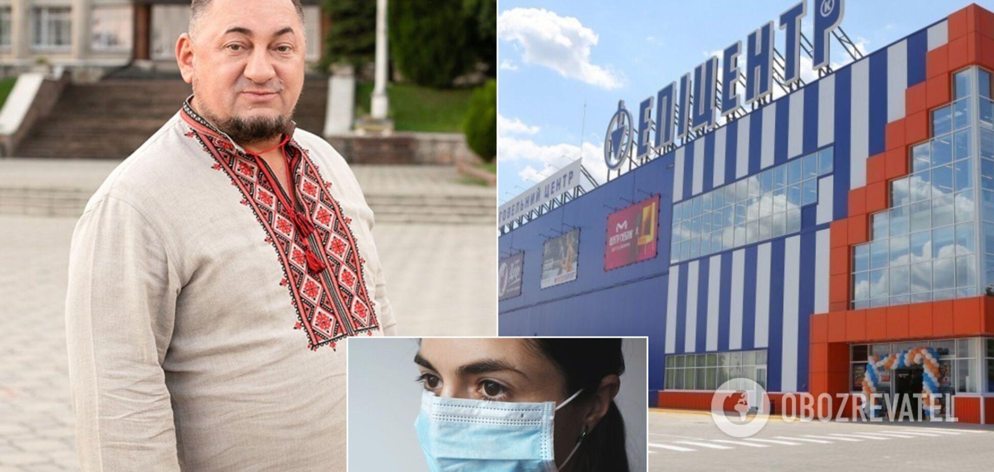 Нардеп Герега предложил Кличко покупать маски в его 'Эпицентре'