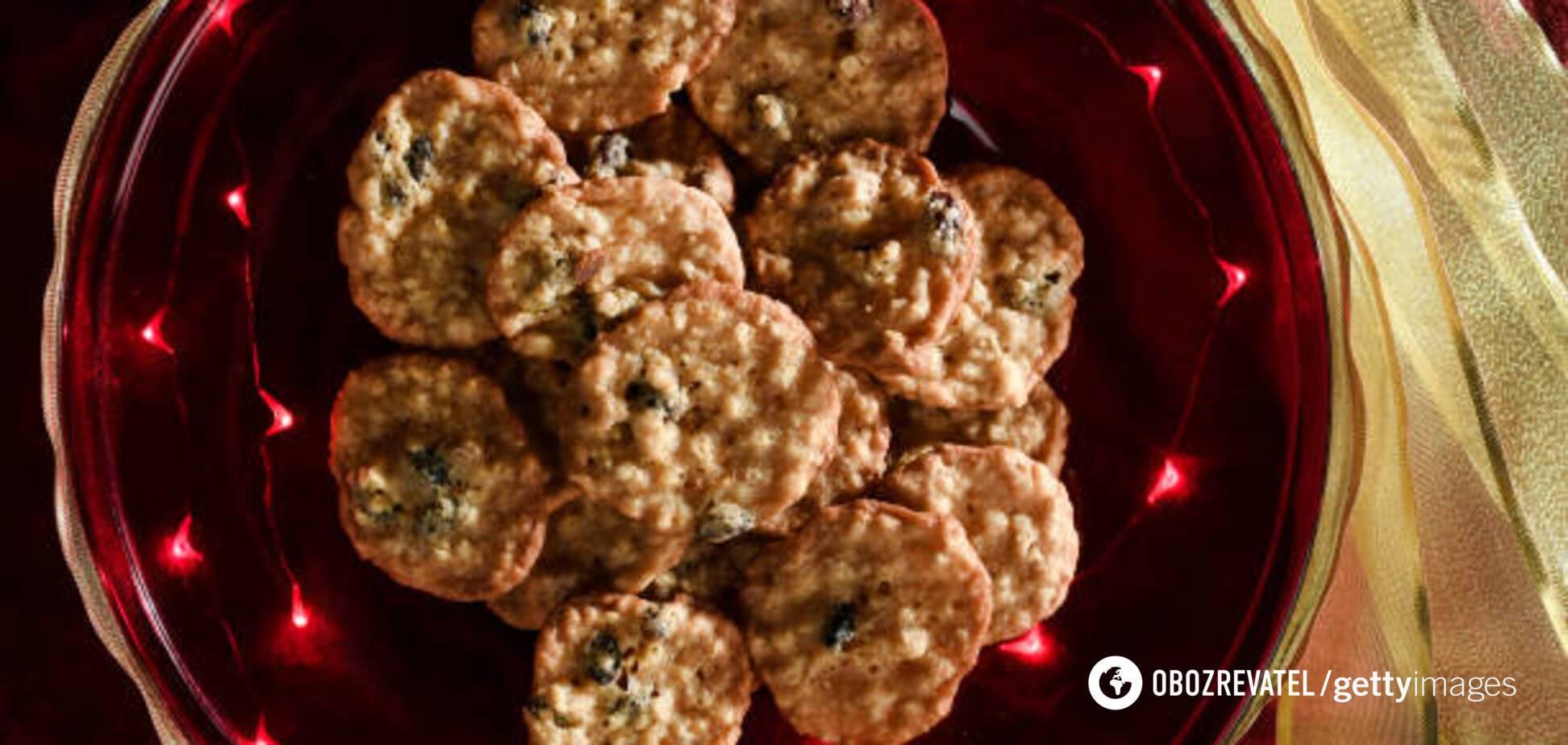 Вкусное печенье без муки