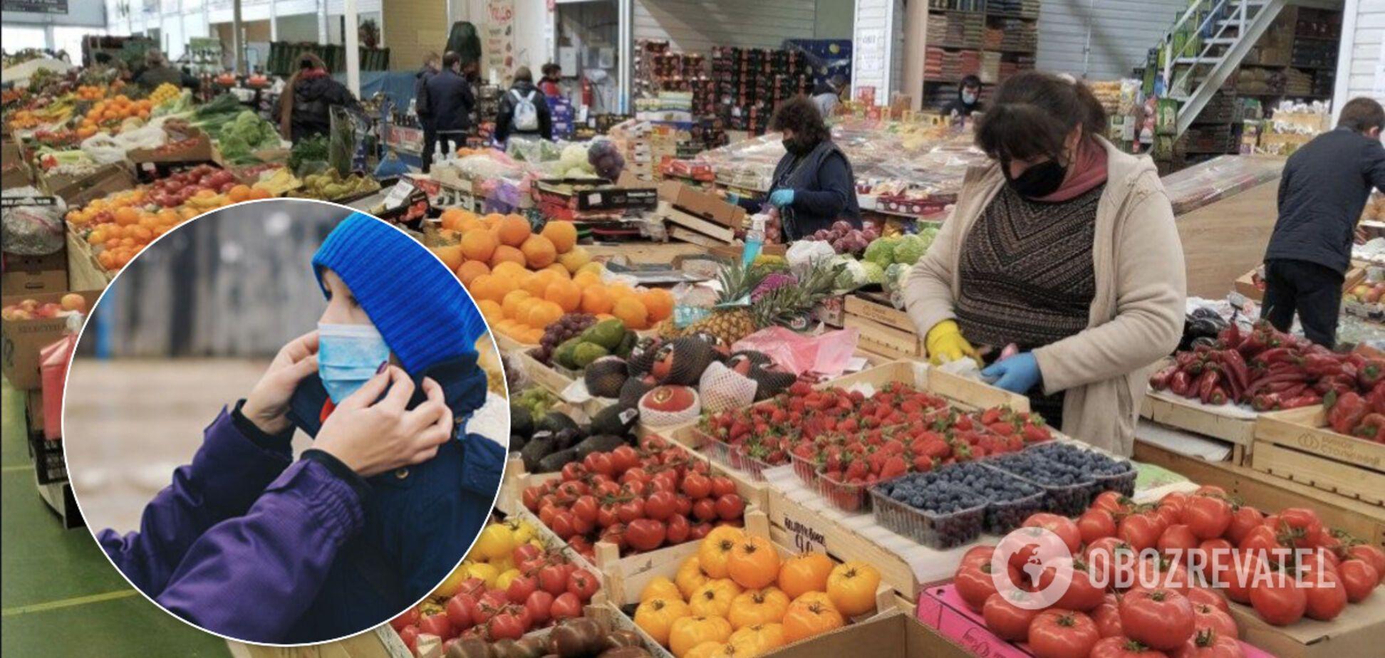 В Україні почали закривати продуктові ринки