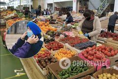 В Украине открыли продовольственные рынки