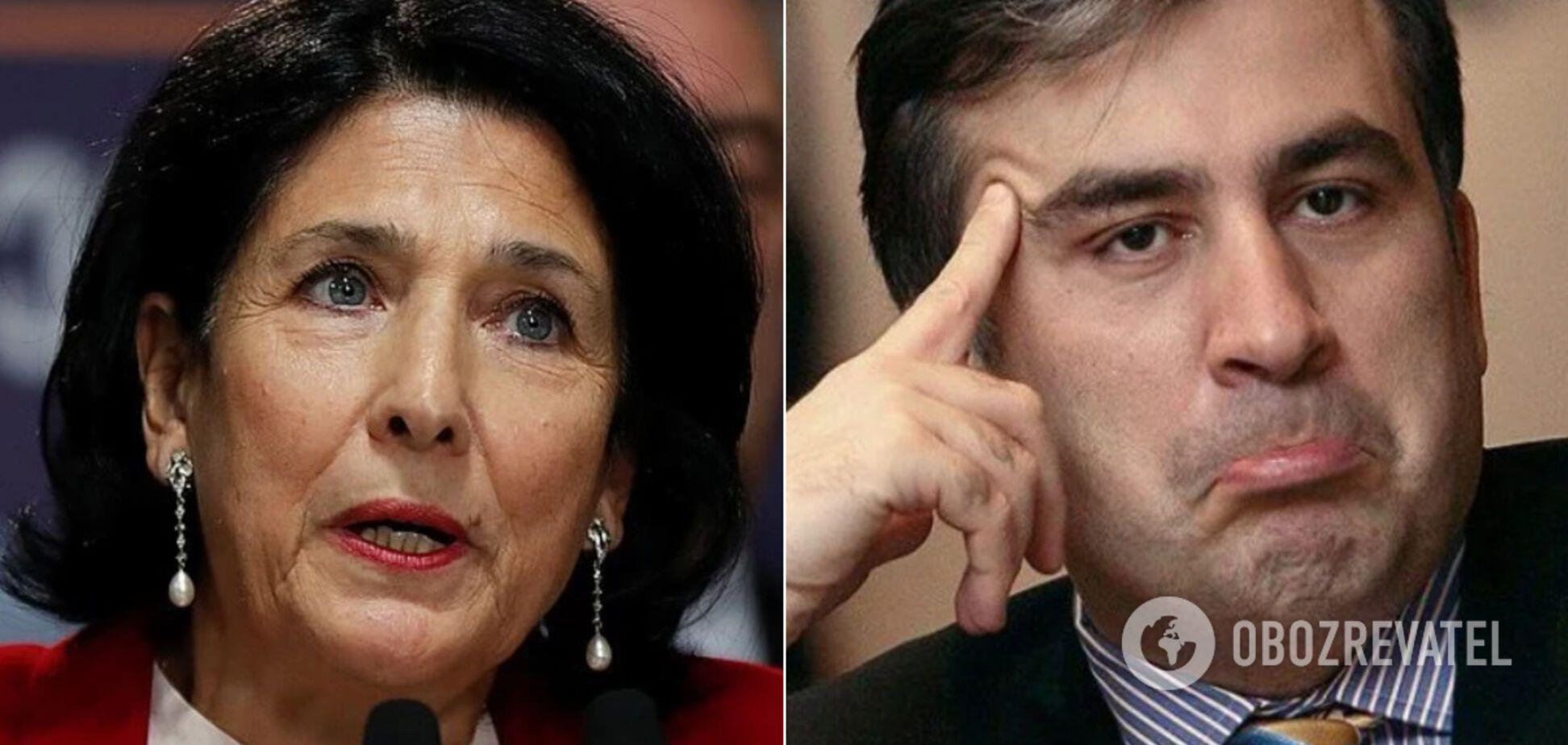 Президент Грузии мощно выступила против назначения Саакашвили в Кабмин
