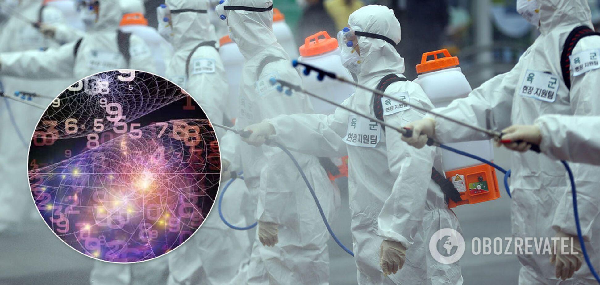 Социолог математически опроверг дату конца эпидемии COVID-19 в Украине