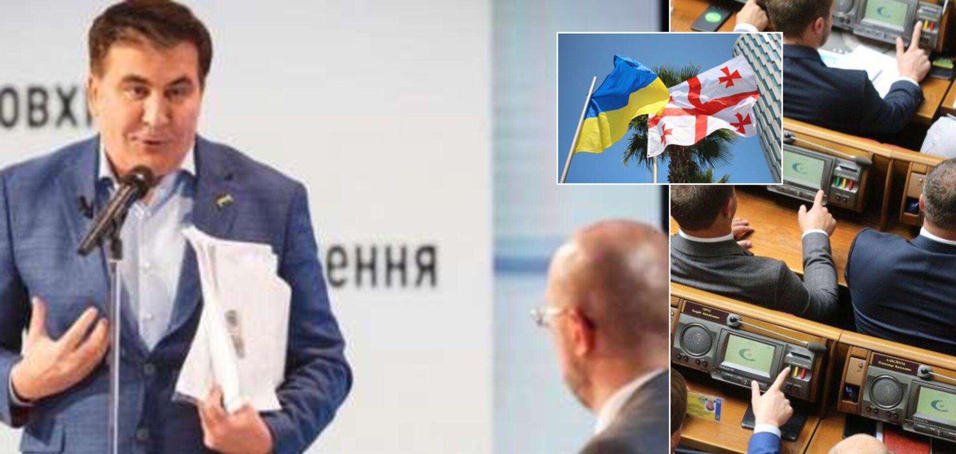 Пролетел над Кабмином? Есть ли будущее у Саакашвили в украинской политике