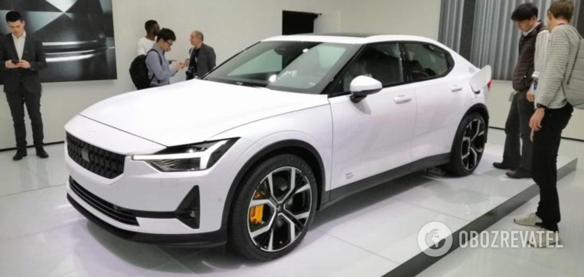 Электрический седан от Volvo оказался почти танком на колесах