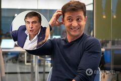 Зеленскому припомнили издевательский номер о Саакашвили