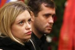 Мілана Тюльпанова і Олександр Кержаков