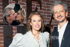 У мережі показали гарячий поцілунок Собчак і Богомолова. Відео