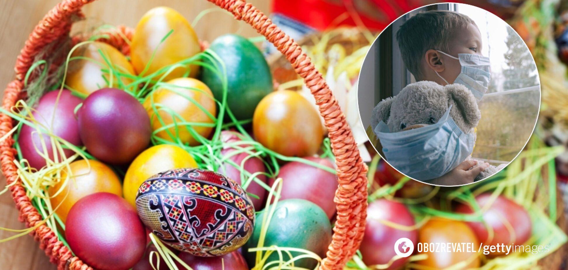 Кличко предупредил об опасности коронавируса во время празднования Пасхи в Киеве. Иллюстрация